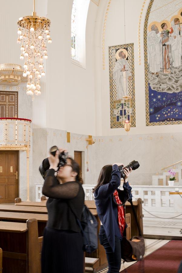 Tour of SteinHof Church of St. Leopold  - Copy