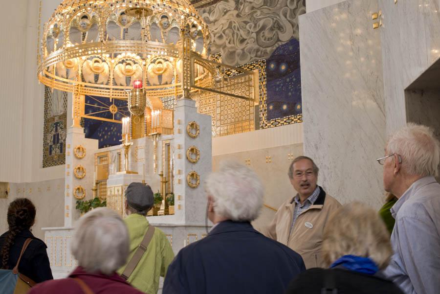 Tour of SteinHof Church of St. Leopold