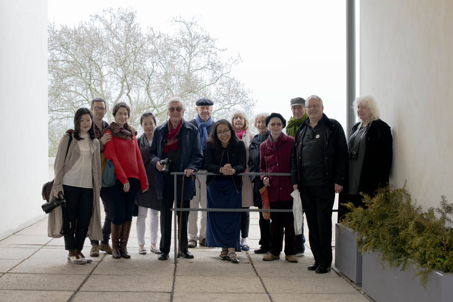 Group Photo at Tugendhat House