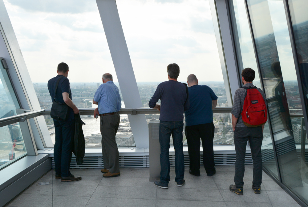 Members Trip to 20 Fenchurch Street Sky Garden with Peter Rees