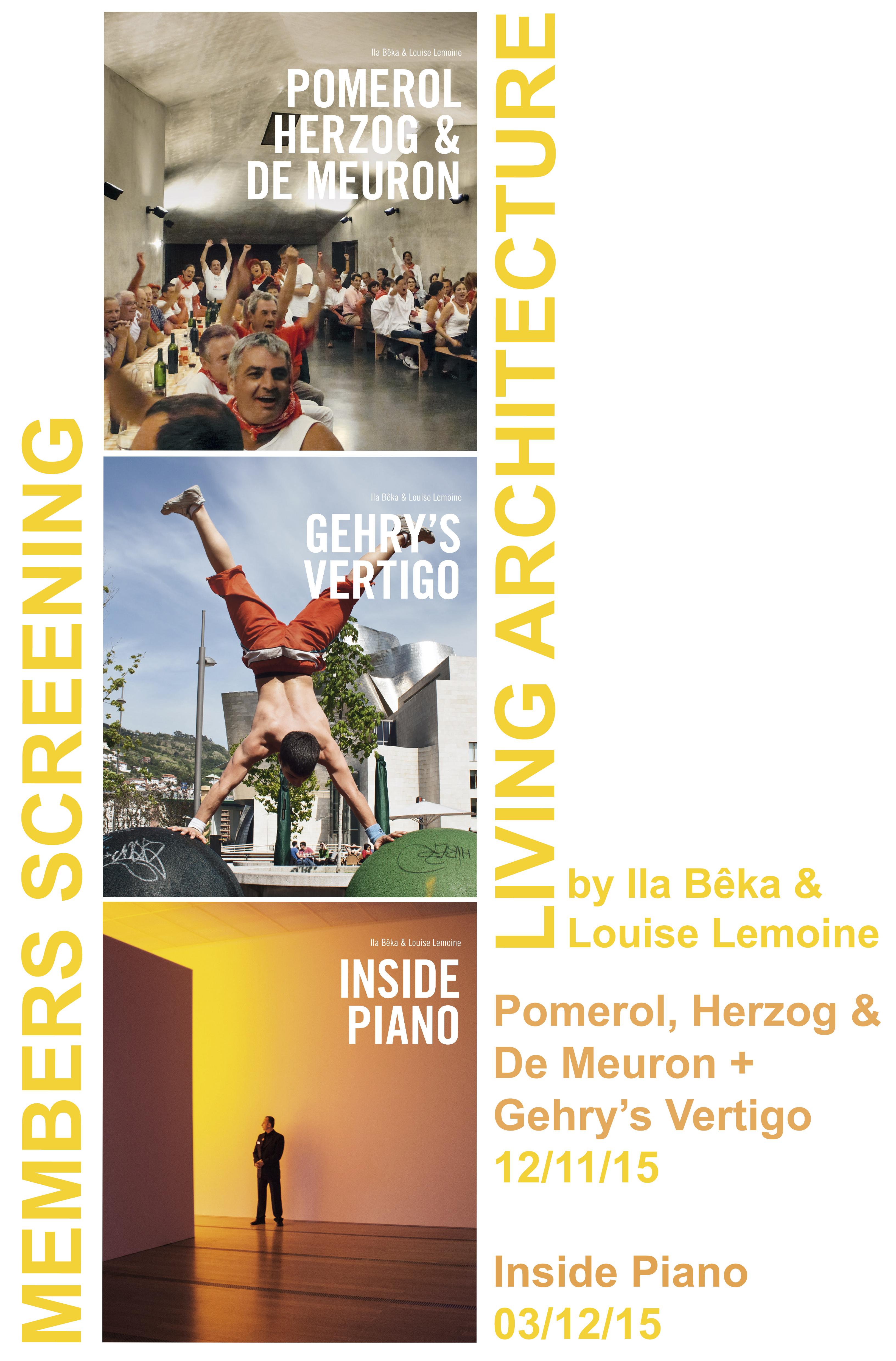 Members' Cinema Screening: Inside Piano