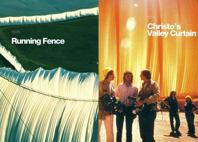 Members' Screening Series on artists Christo & Jeanne-Claude - Christo's Valley Curtain & Running Fence