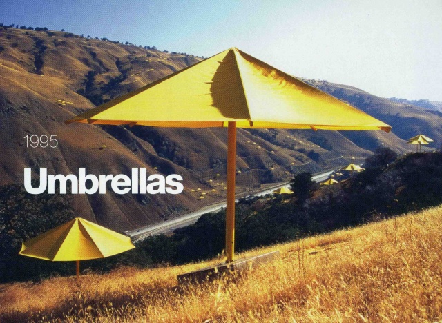 Christo & Jeanne Claude film Umbrellas