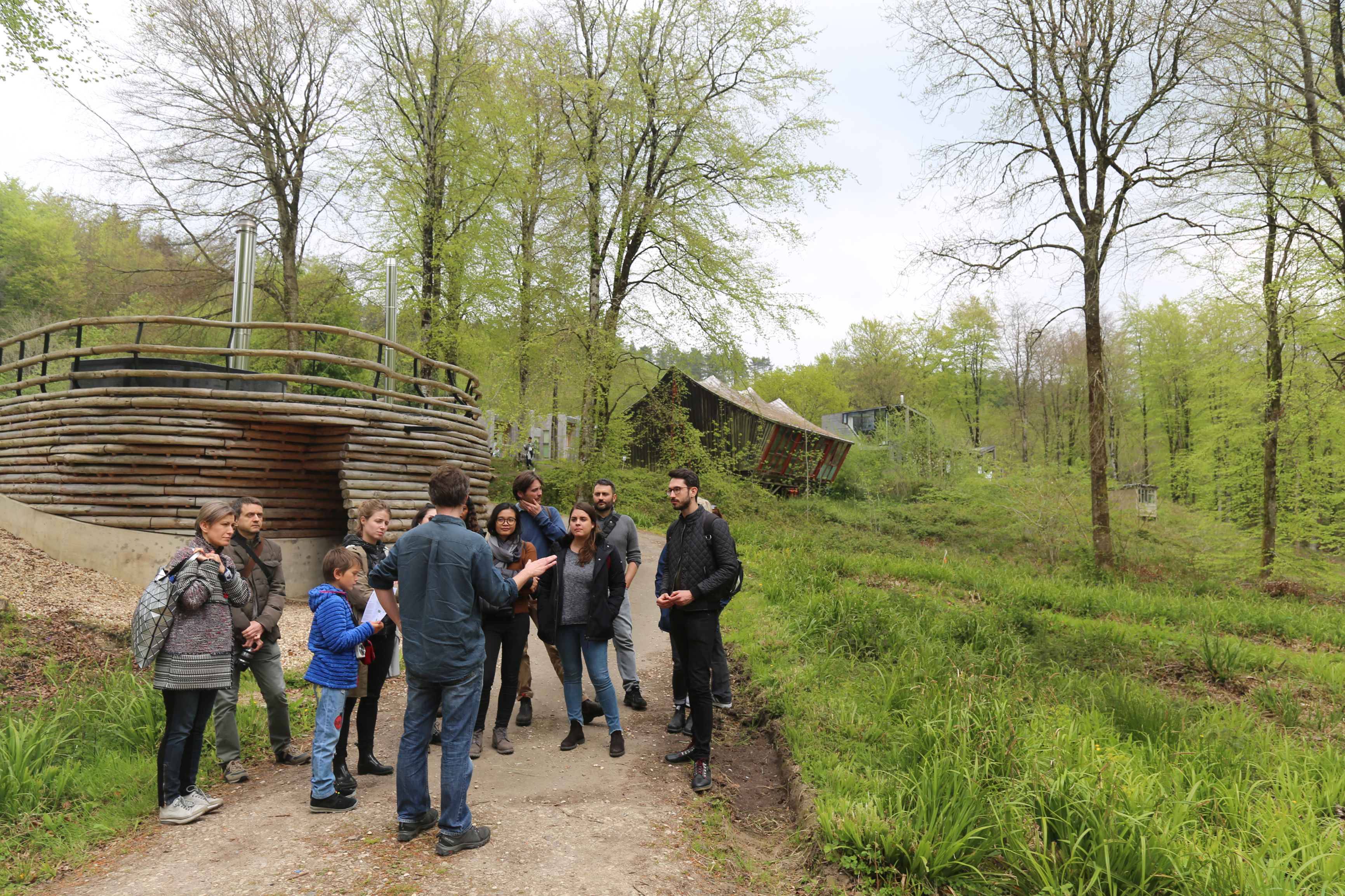 Hooke Park Members' Trip: Campus tour + foraging and forestry walks