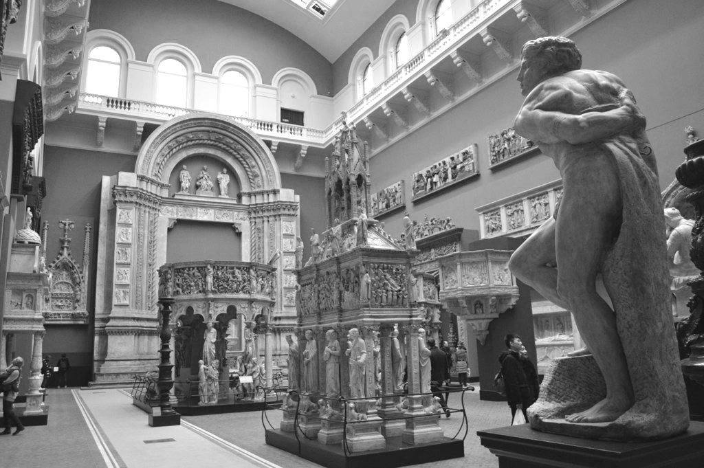 AA Building Conversations: Drawings Study Room & Cast Courts, V&A, with Peter Wilson