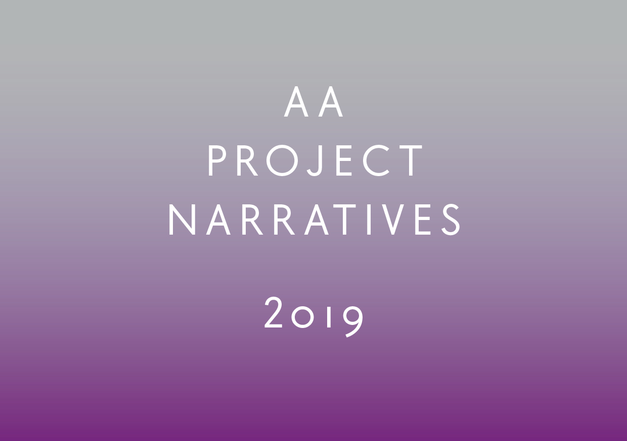 Blueprint for the Future: AA Project Narratives 2019